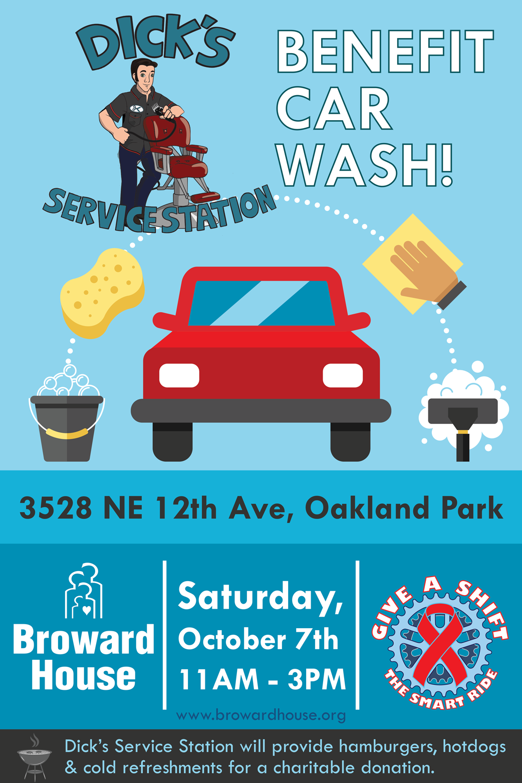 Smart Car Wash >> Benefit Car Wash for Team Give a Shift and the SMART Ride